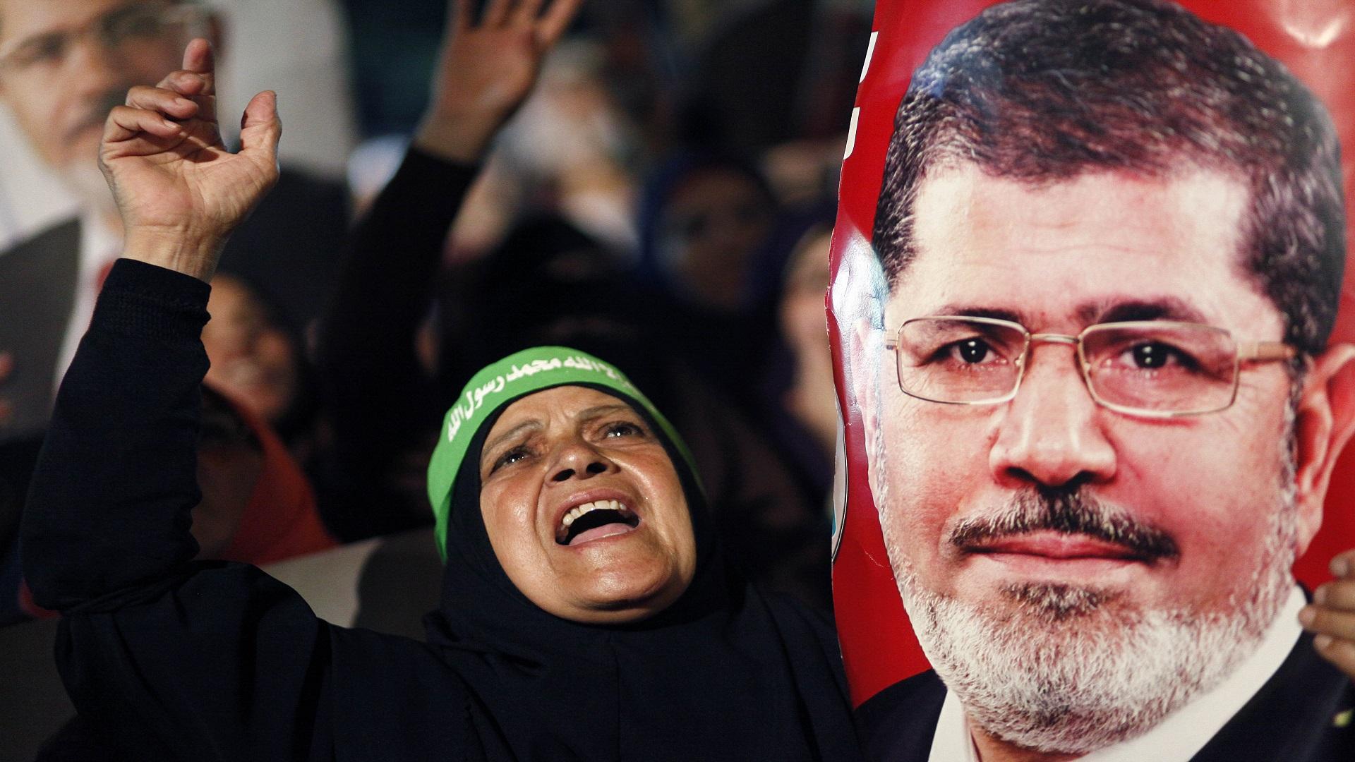 """هاشتاج """"#مرسي"""" يتصدر للإشادة بصمود الرئيس – بوابة الحرية والعدالة"""