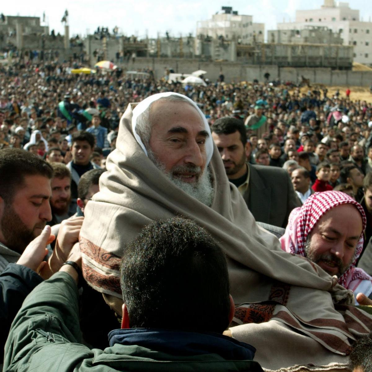 الذكرى 15 لاغتيال الشيخ احمد ياسين